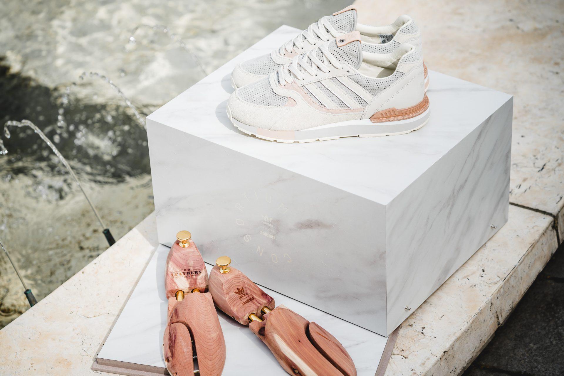 adidas consortium italian leathers