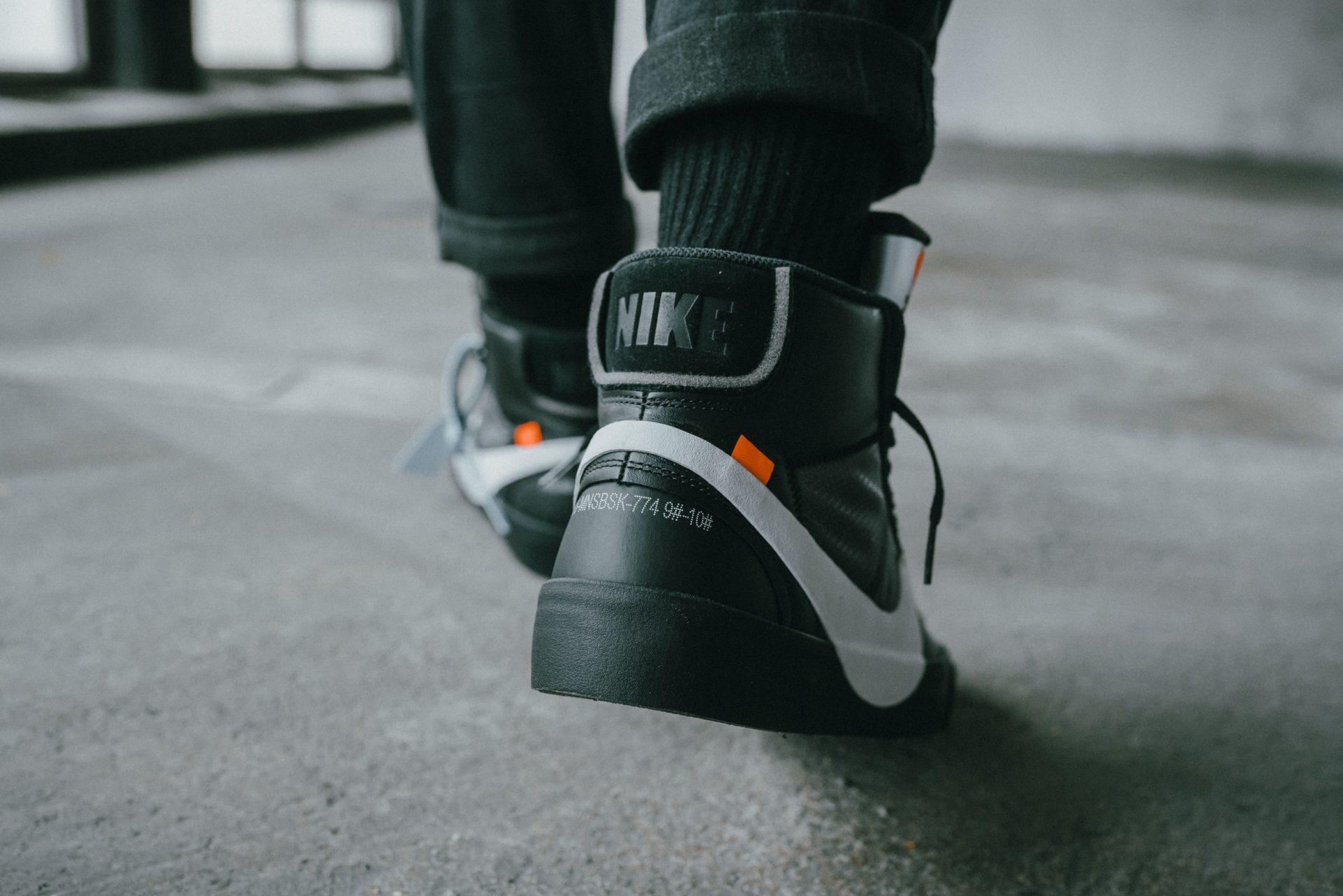 mendigo pozo colgante  Nike x Off-White Blazer ''Grim Reaper'' & ''All Hallow's Eve'' Launch -  solebox Blog